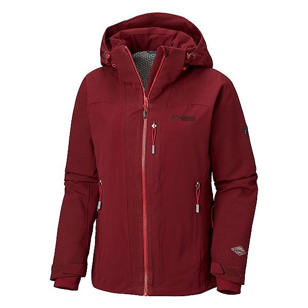 Columbia Powder Keg II Womens Insulated Ski Jacket, Rich Wine, 600