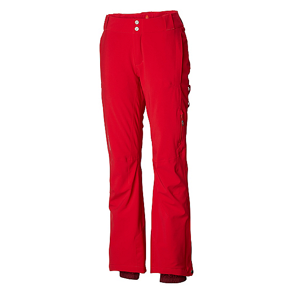 Columbia Snow Rival Womens Ski Pants, Red Mercury, 600