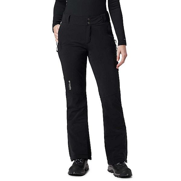 Columbia Snow Rival Plus Womens Ski Pants, Black, 600