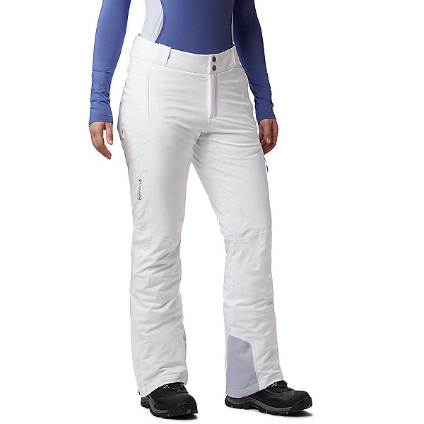 Columbia Snow Rival Plus Womens Ski Pants 2020, White, 600