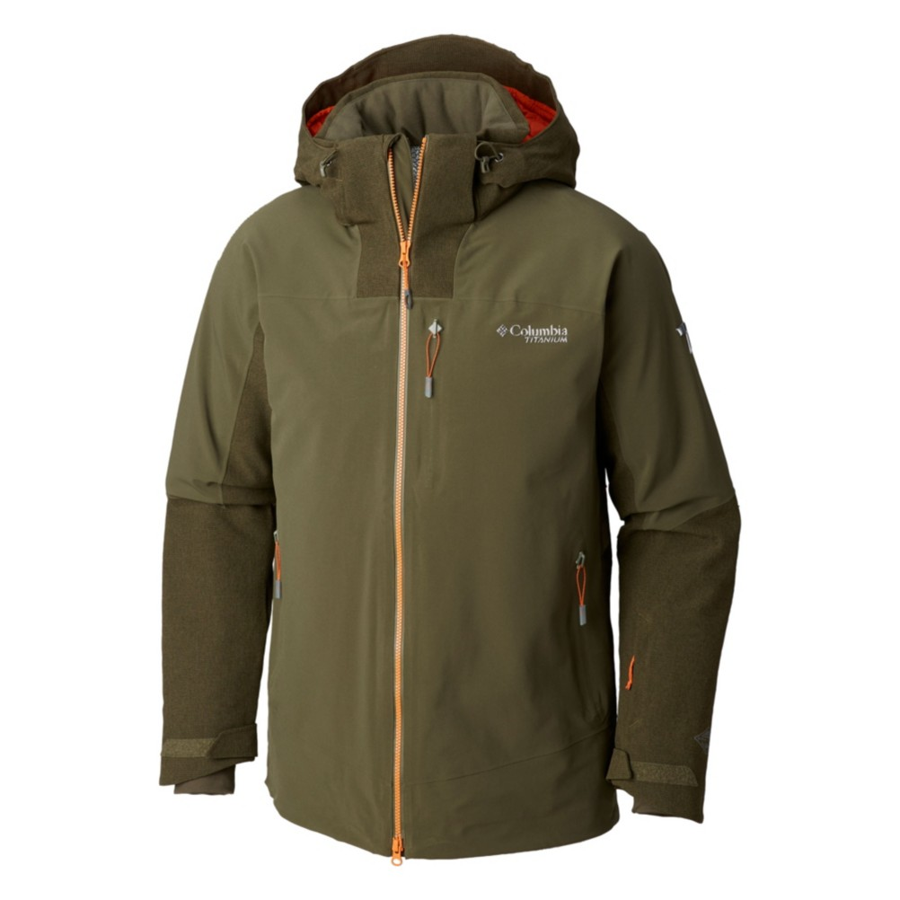 Mens M XL Columbia POWDER KEG INSULATED DOWN SKI SNOWBOARDING OMNI HEAT JACKET Clothing, Shoes & Accessories Men's Clothing