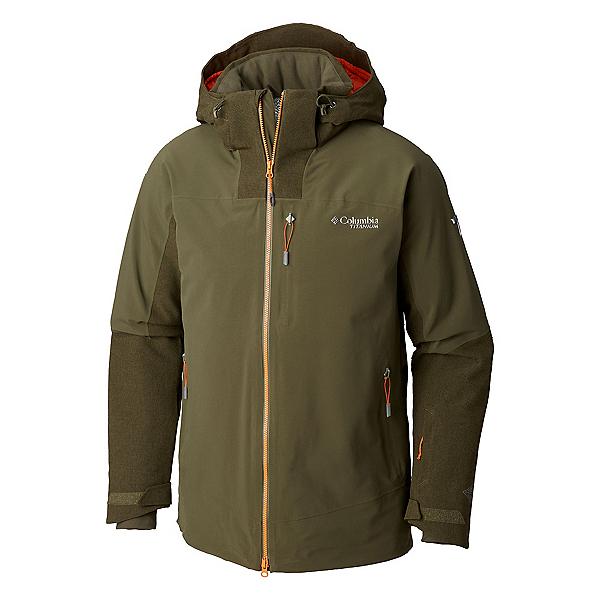 Columbia Powder Keg II Mens Insulated Ski Jacket 2019, Peatmoss, 600