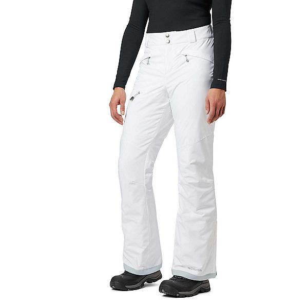 Columbia Wildside Womens Ski Pants 2020, White, 600