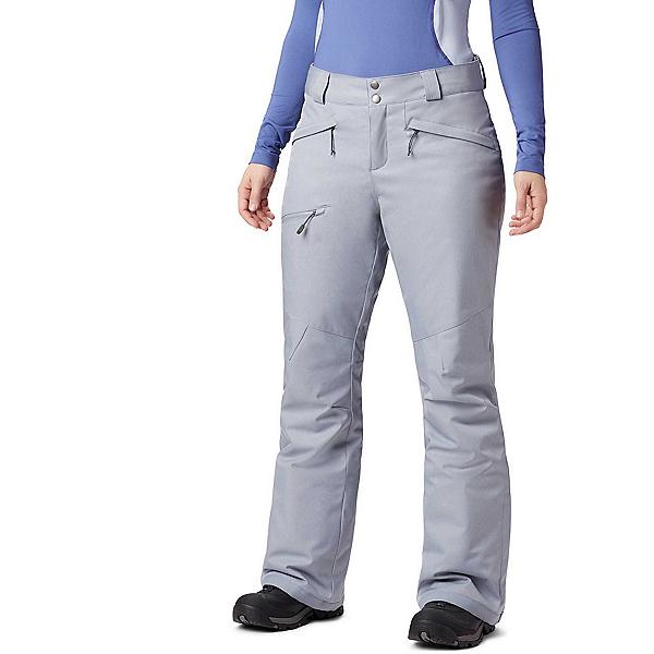 Columbia Wildside Womens Ski Pants, Tradewinds Grey Heather, 600