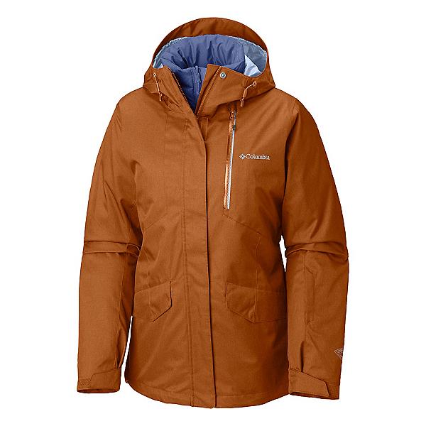 Columbia Emerald Lake Interchange Womens Insulated Ski Jacket 2019, , 600
