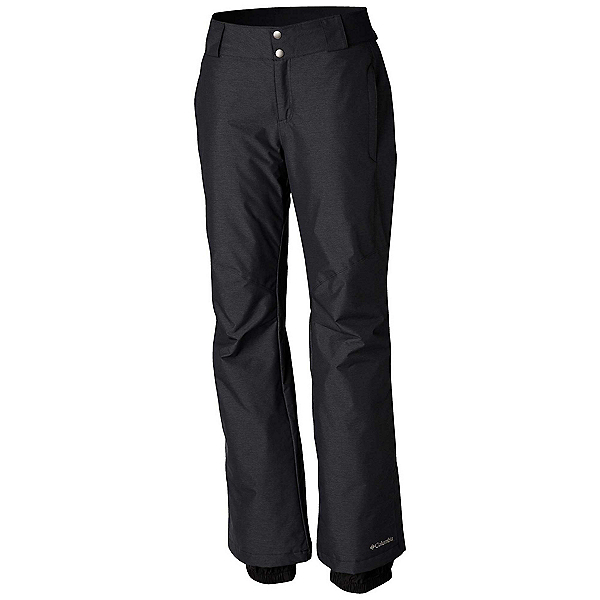 Columbia Bugaboo II Plus Womens Ski Pants, Black Crossdye, 600