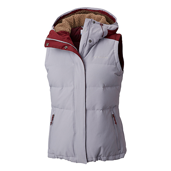 Columbia Winter Challenger Womens Vest 2019, Astral Rich Wine, 600
