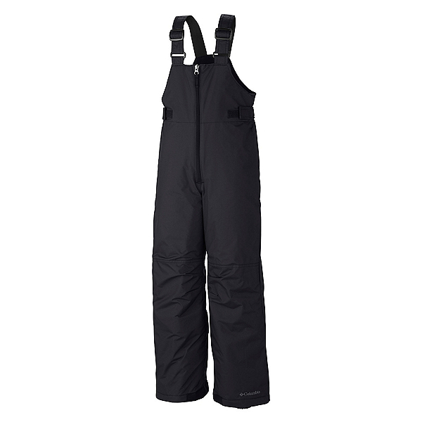 Columbia Snowslope II Bib Toddler Boys Ski Pants, Black, 600