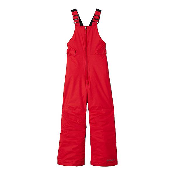 Columbia Snowslope II Bib Toddler Boys Ski Pants, Mountain Red, 600