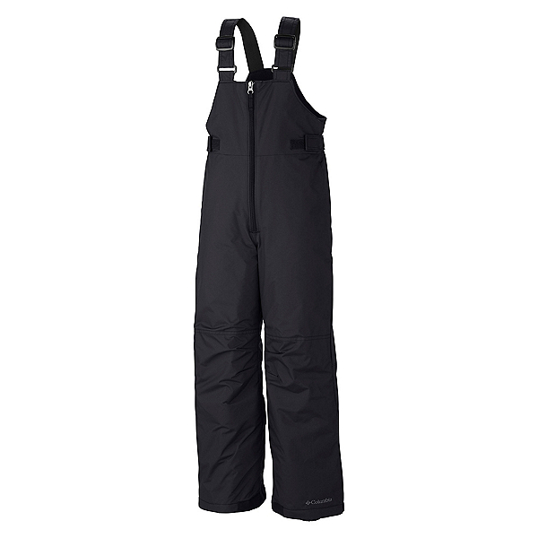 Columbia Snowslope II Bib Toddler Girls Ski Pants, Black, 600