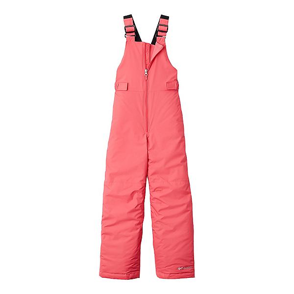 Columbia Snowslope II Bib Toddler Girls Ski Pants, Bright Geranium, 600