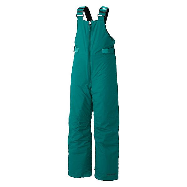 Columbia Snowslope II Bib Toddler Girls Ski Pants, Emerald, 600