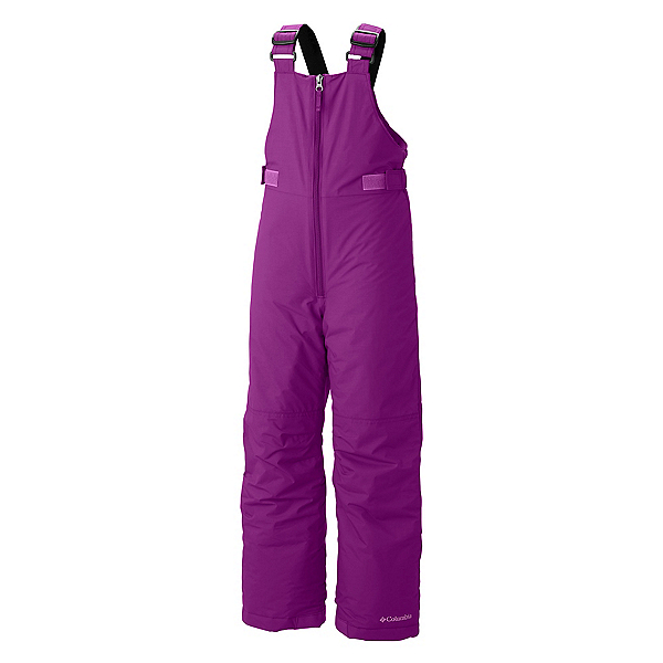 Columbia Snowslope II Bib Toddler Girls Ski Pants, Bright Plum, 600