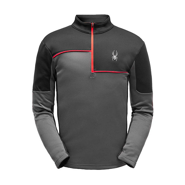 Spyder Charger Zip T-Neck Mens Mid Layer, , 600