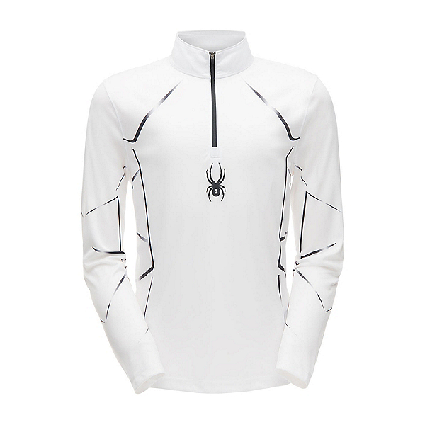 Spyder Limitless Lines Zip T-Neck Mens Mid Layer, , 600