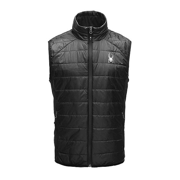 Spyder Glissade Insulator Mens Vest, Black-Black-Black, 600