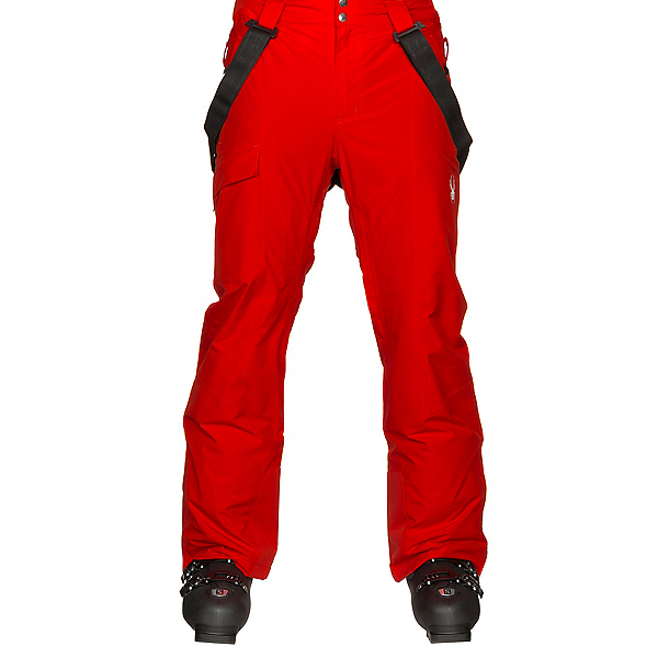 Spyder Sentinel Tailored Mens Ski Pants, Volcano-Volcano, 600