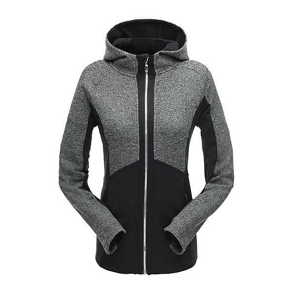 Spyder Bandita Hoody Stryke Womens Sweater, Black-Black-Black, 600
