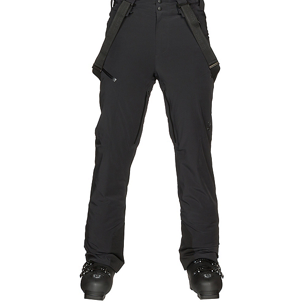 Spyder Bormio Mens Ski Pants, Black-Black, 600