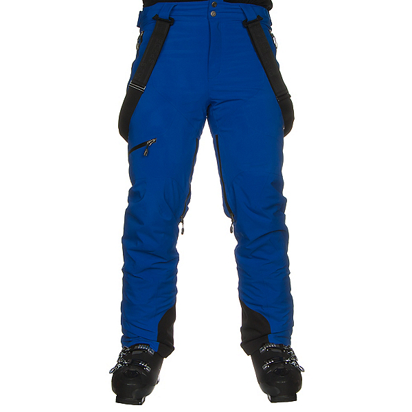 Spyder Propulsion Mens Ski Pants, Turkish Sea-Black, 600