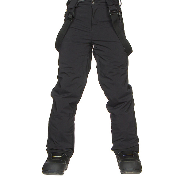 Spyder Bormio Kids Ski Pants, Black-Black, 600