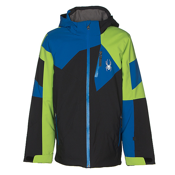 Spyder Leader Boys Ski Jacket, , 600