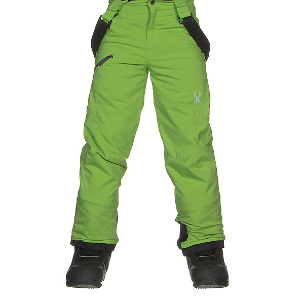 Spyder Propulsion Kids Ski Pants, Fresh-Black, 600
