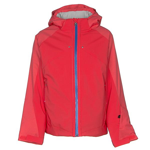 Spyder Tresh Girls Ski Jacket, Hibiscus-Hibiscus-Turkish Sea, 600