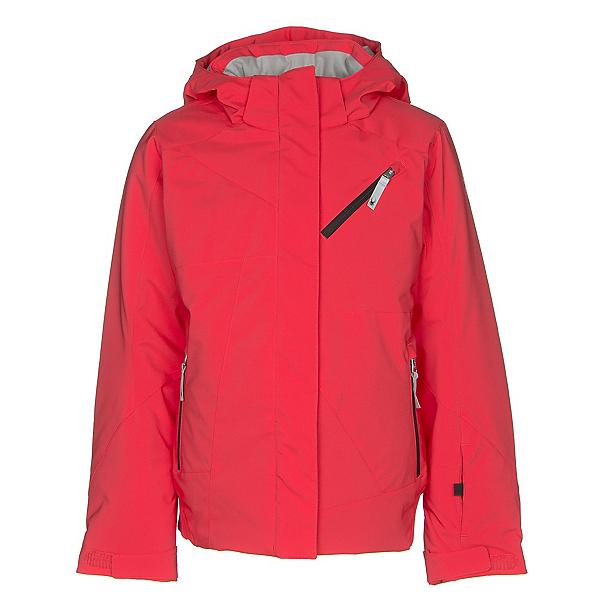Spyder Lola Girls Ski Jacket, Hibiscus-Hibiscus-Black, 600