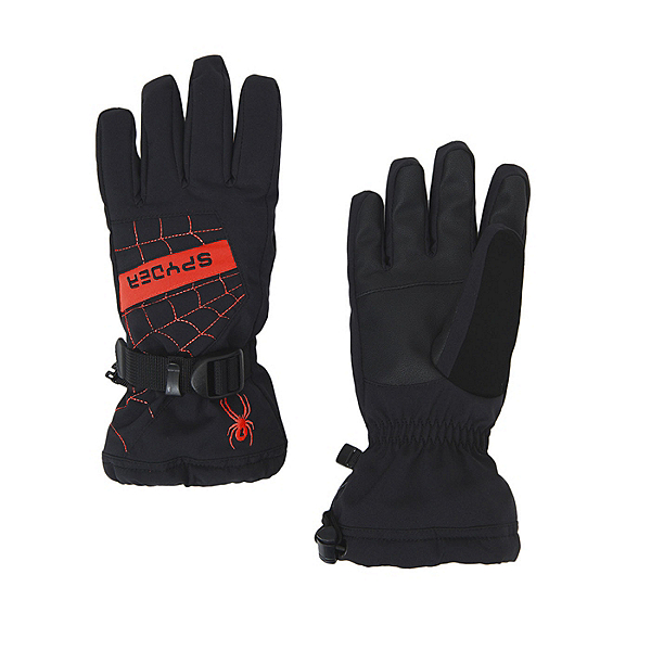Spyder Overweb Kids Gloves, , 600