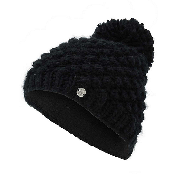 Spyder Brrr Berry Kids Hat, Black-Alloy, 600