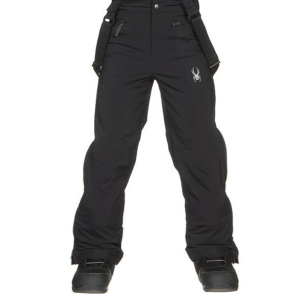 Spyder Guard Kids Ski Pants, Black-Black, 600