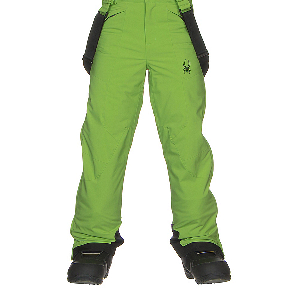Spyder Guard Kids Ski Pants, Fresh-Black, 600