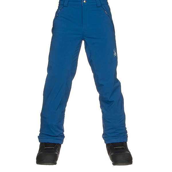 Spyder Olympia Tailored Girls Ski Pants, Turkish Sea-Turkish Sea, 600