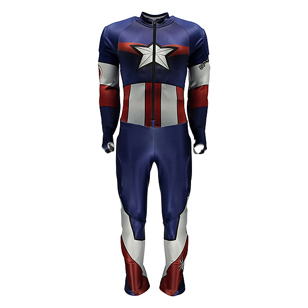 Spyder Marvel Performance GS Suit, French Blue-Captain America, 600