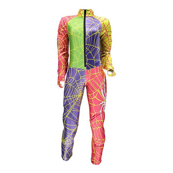 Spyder Performance GS Womens Race Suit, Multi-Multi, 600