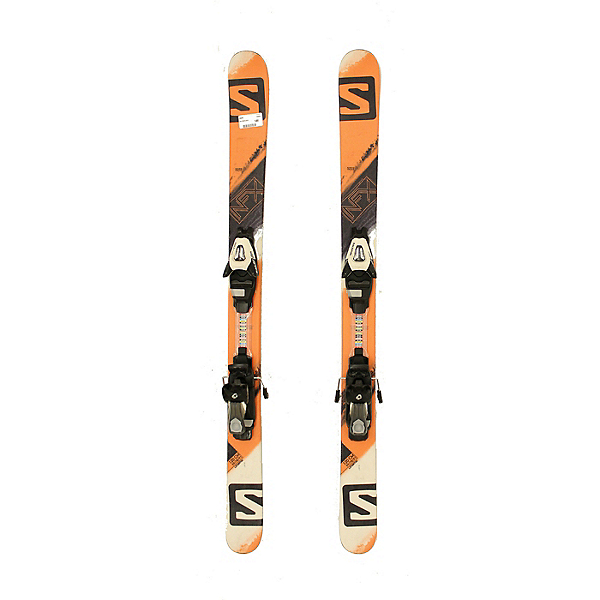 Used 2016 Salomon NFX Jr Park Pipe Skis L7 Bindings A Condition, , 600