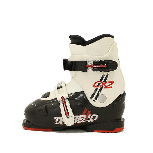 Used 2017 Dalbello CX2 Kids Toddler Youth Size Ski Boots Easy Ratchet Buckle, , 600