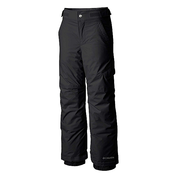 Columbia Ice Slope II Toddler Boys Ski Pants, Black, 600