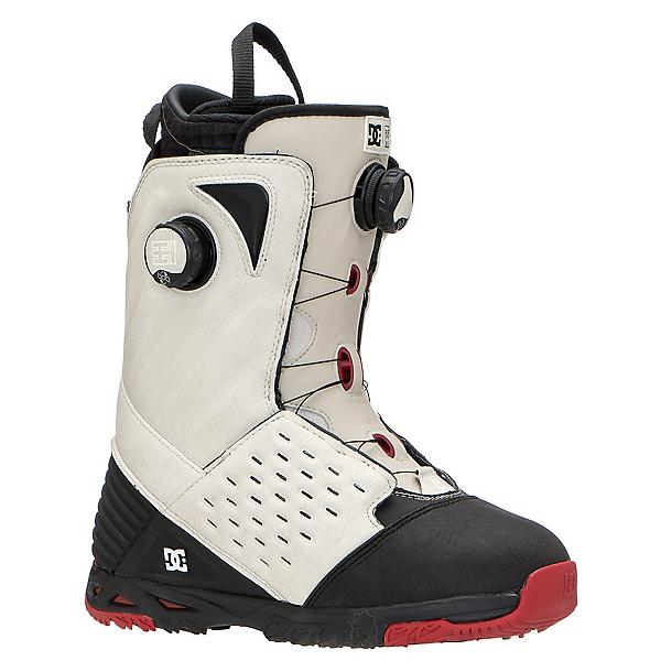 DC Torstein Horgmo BOA Snowboard Boots, White-Black-Red, 600