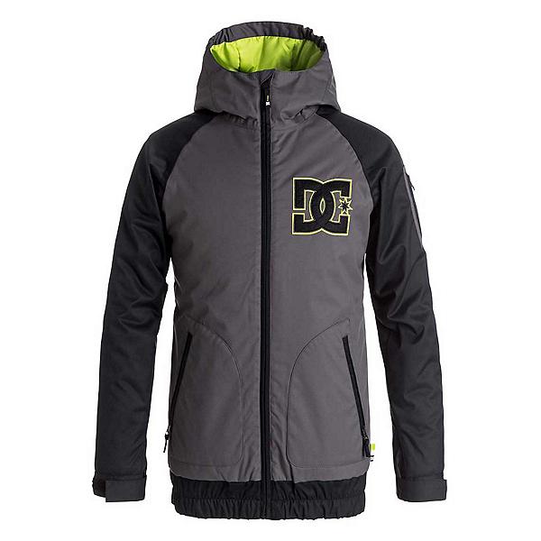 DC Troop Boys Insulated Snowboard Jacket, Dark Shadow, 600