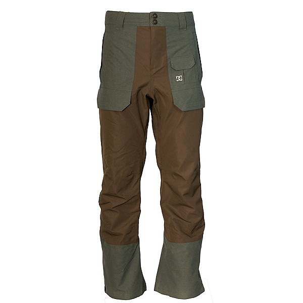 DC Asylum Mens Snowboard Pants, Beetle, 600