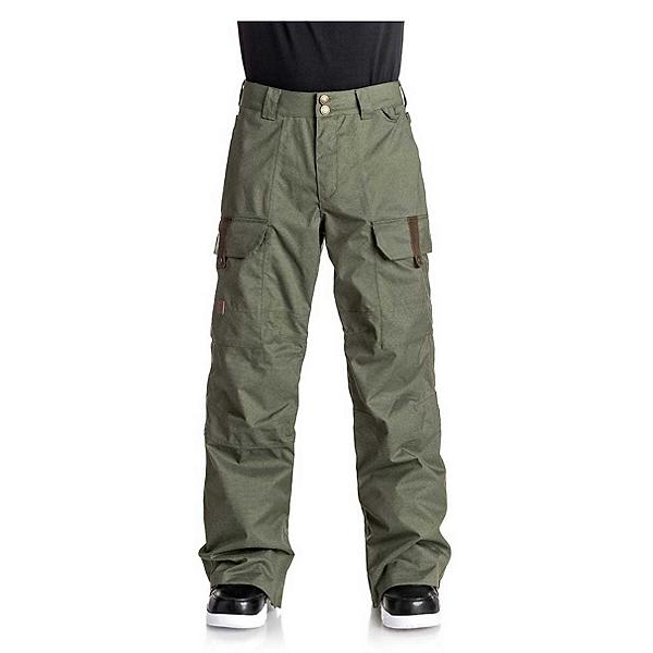 DC Code Mens Snowboard Pants 2018, Beetle, 600