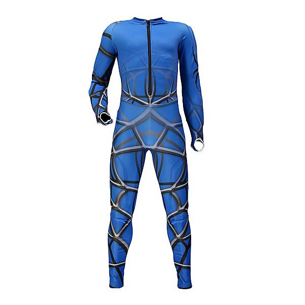 Spyder Nine Ninety Boys Race Suit, French Blue-Black, 600
