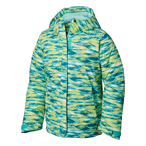 Columbia Horizon Ride Toddler Girls Ski Jacket, Pixie Blanket Print, 600