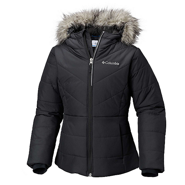 Columbia Katelyn Crest Toddler Girls Ski Jacket 2021, Black, 600