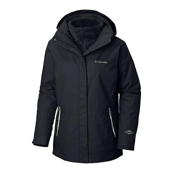 Columbia Bugaboo II Interchange Plus Womens Insulated Ski Jacket, Black, 600