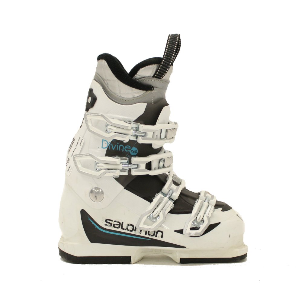 Used 2017 Womens Salomon Divine R60 Ski Boots SALE