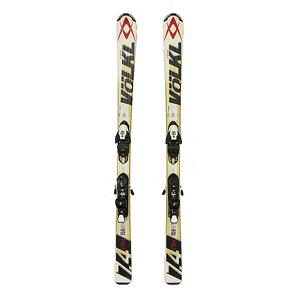 Used 2014 Volkl RTM 7.4 Skis with Bindings C Condition Size Choices, , 600