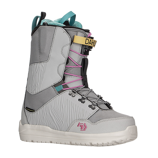 Northwave Dahlia SL Womens Snowboard Boots, Gray, 600
